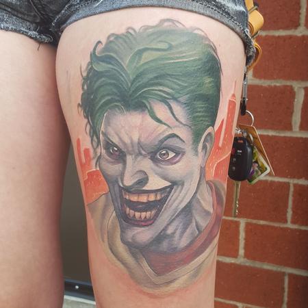 Tattoos - Custom joker piece - 111324