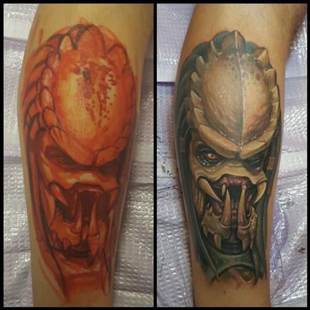 Tattoos - Freehand - Predator - 111327