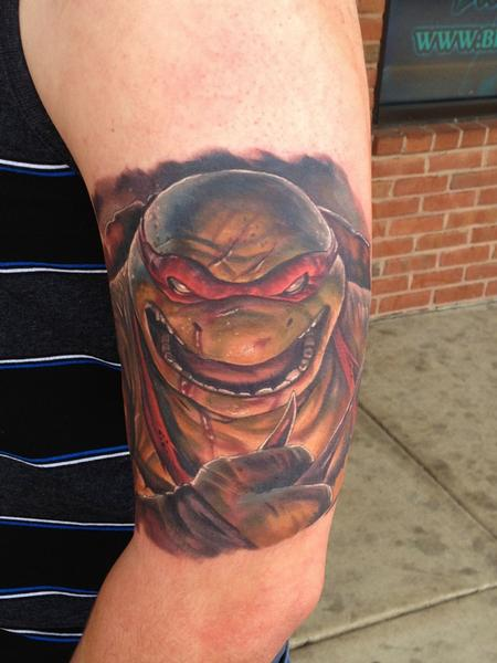Tattoos - Ninja Turtle! - 111320