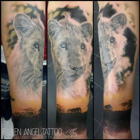 Tattoos - The Lion Michael - 100042