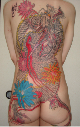 Horiyoshi III - Traditional Dragon Backpiece