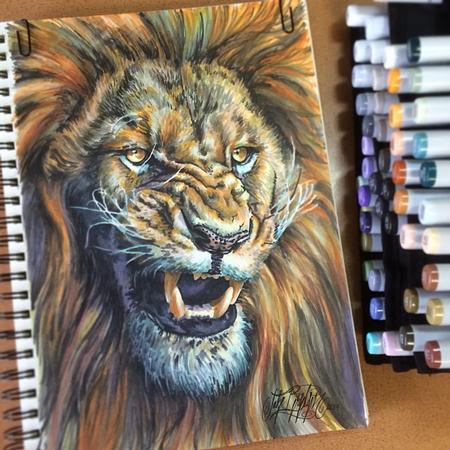 Jake Bertelsen - Lion