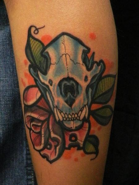 Tattoos - Bear Skull - 70187