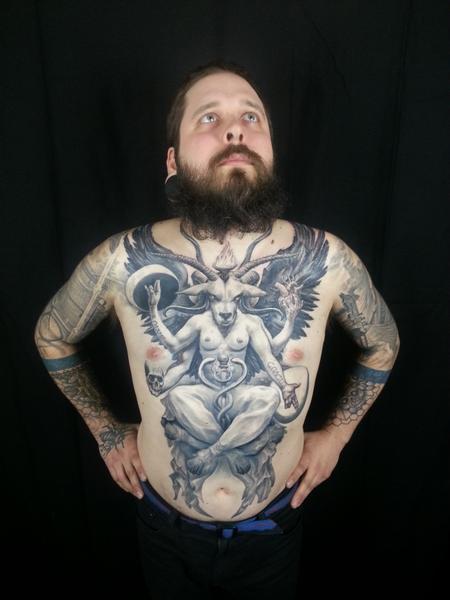 Tattoos - Full Torso Piece - 100290