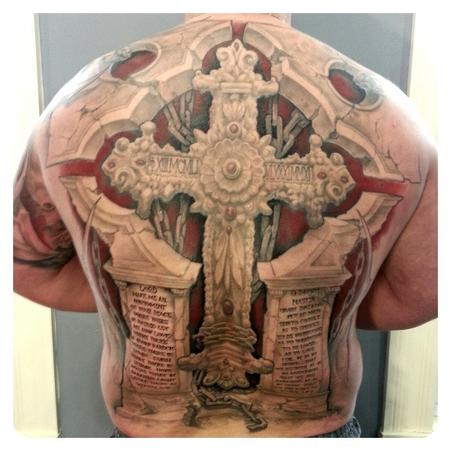 Tattoos - Cross - 101370
