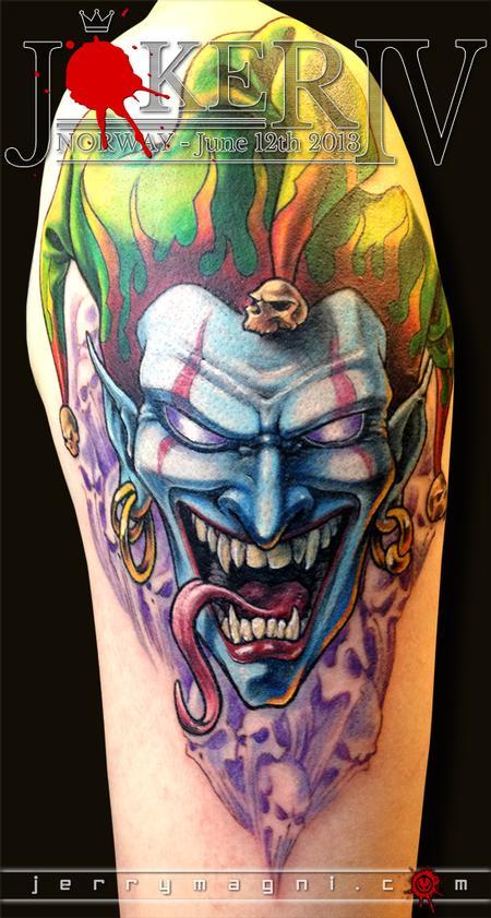 Tattoos - Joker - 120178