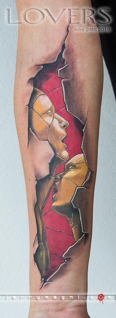 Tattoos - Lovers - 120390