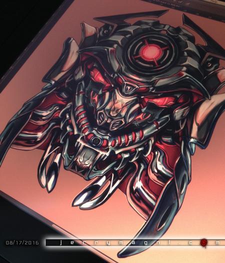 Jerry Magni - Mechanic Samurai