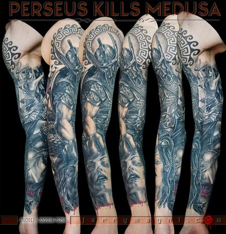 Tattoos - Perseus Killing Medusa - 137970