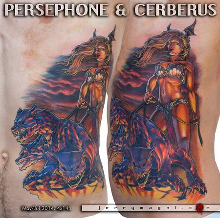 Tattoos - Persephone & Cerberus - 120292