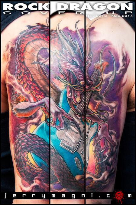 Tattoos - Rock Dragon - 120290