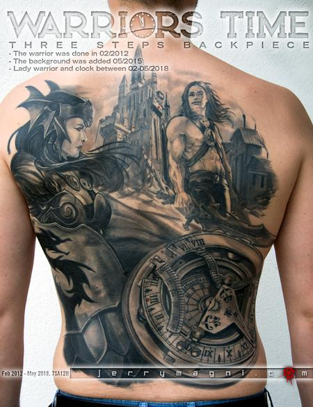 Tattoos - Warriors time - 137975
