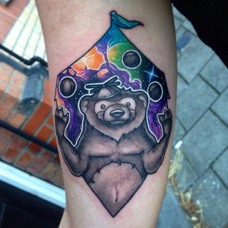 Tattoos - Juggling Bear - 104805