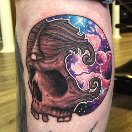 Tattoos - Skull space banger - 115313