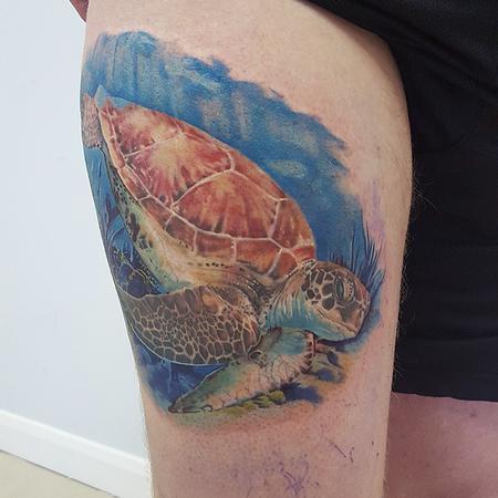 Tattoos - Sea Turtle - 117610