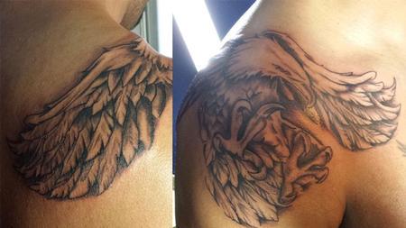 Tattoos - Bald Eagle - 108647