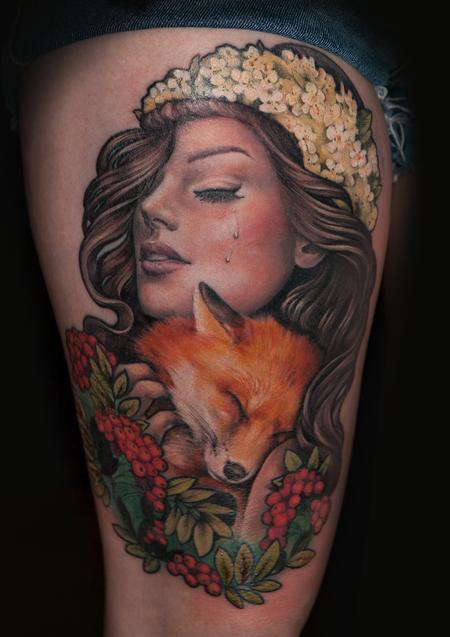 Tattoos - foxgirl - 103704
