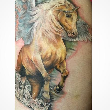 Tattoos - Unicorn - 103544