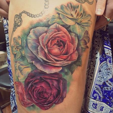 Tattoos - Flower - 103545