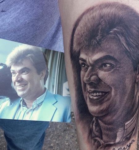 Tattoos - Uncle portrait - 101431