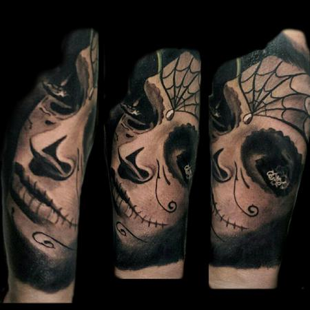 Tattoos - Day of the dead women - 106651