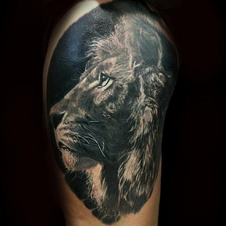 Tattoos - Lion - 106648