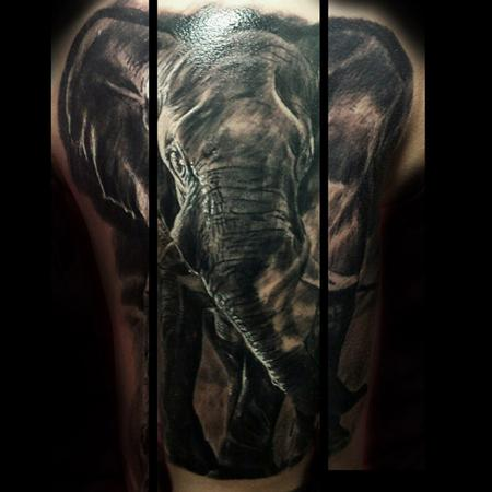 Tattoos - Elephant - 106647