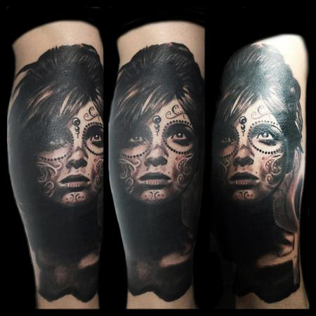 Tattoos - Day of the dead women - 106645