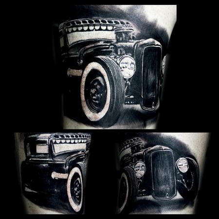 Tattoos - Ford Ratrod - 106633