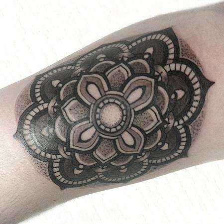 Tattoos - Mandala - 99116