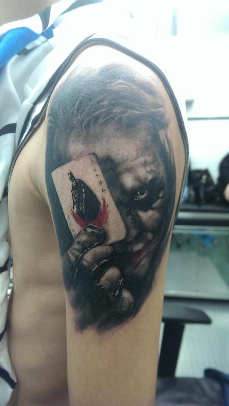 Tattoos - Joker - 99086