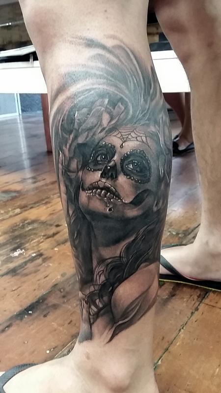 Tattoos - Sugar skull girl - 115816
