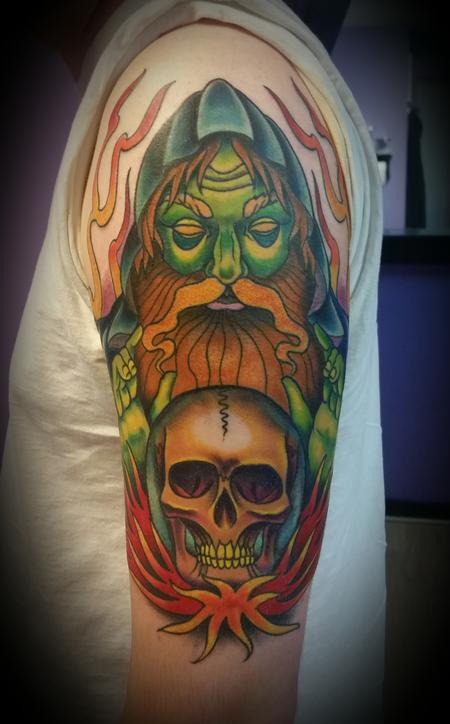 Tattoos - wizard - 109611