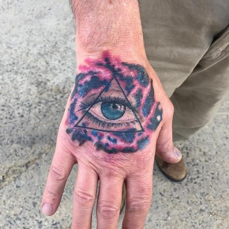 Tattoos - universal all seeing eye - 114155