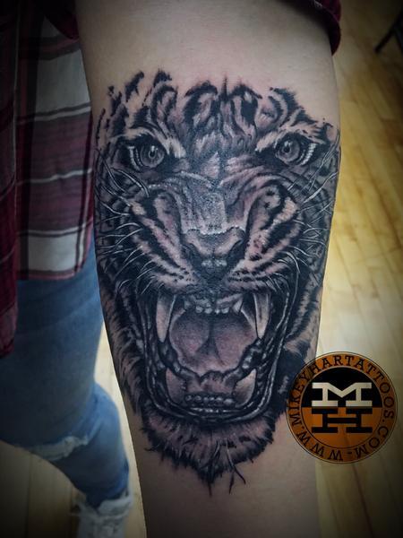 Tattoos - Tiger - 132985
