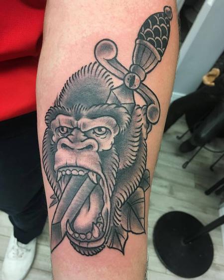 Tattoos - Gorilla  - 131184