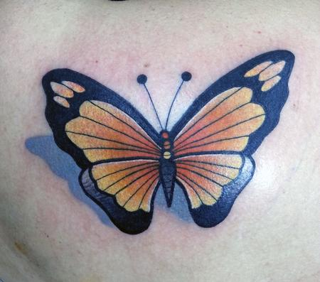 Tattoos - Monarch Butterfly - 99342