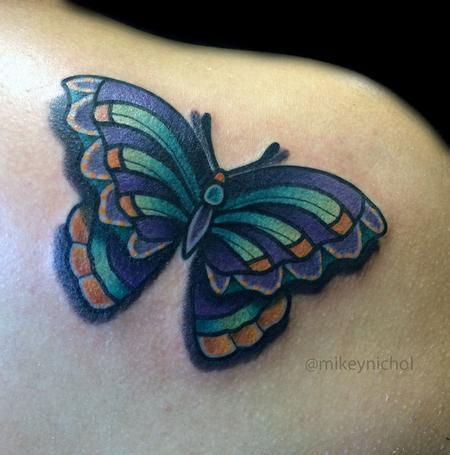 Tattoos - Butterfly - 99343
