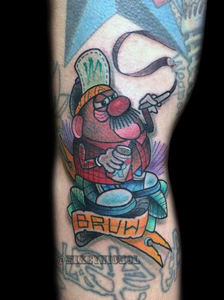 Tattoos - Mr. Potatoe Head - 99338