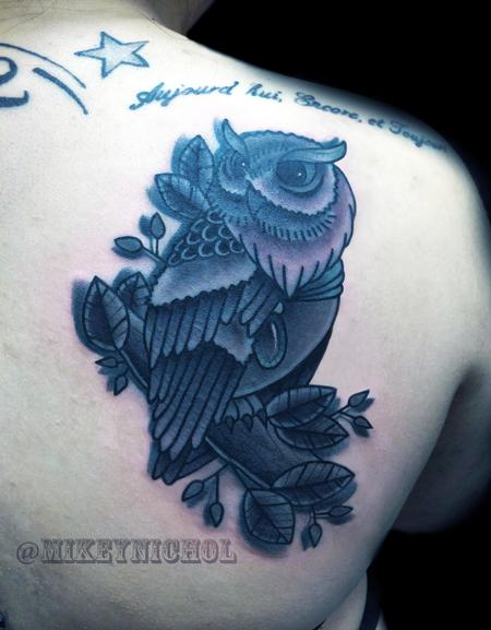 Tattoos - OWL - 100222