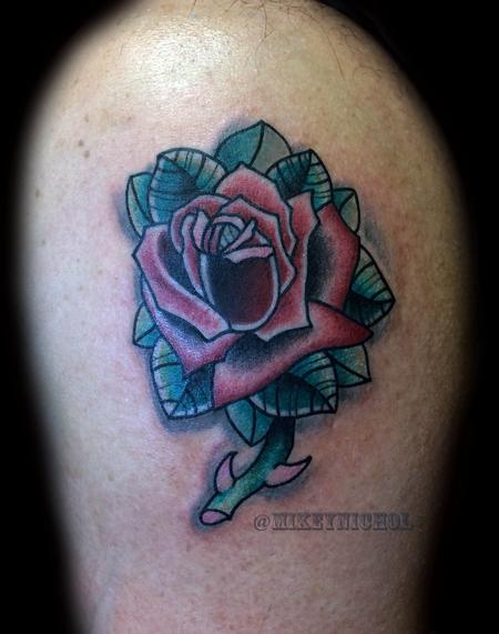 Tattoos - Rose - 99698