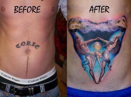 Tattoos - Custom Coverup Tattoo - 61642