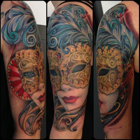 Tattoos - Venetian Mask - 89036