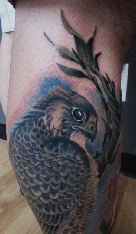 Tattoos - Hawk Detail - 86563