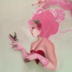 Monica Painter--Magical Unicorn - Pink-Haired Girl