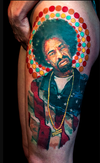 Tattoos - Mac Dre Portrait - 113816