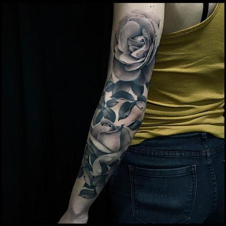 Tattoos - Rose Sleeve - 113867
