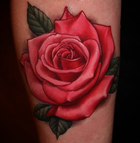 Tattoos - Rose Tattoo - 99400