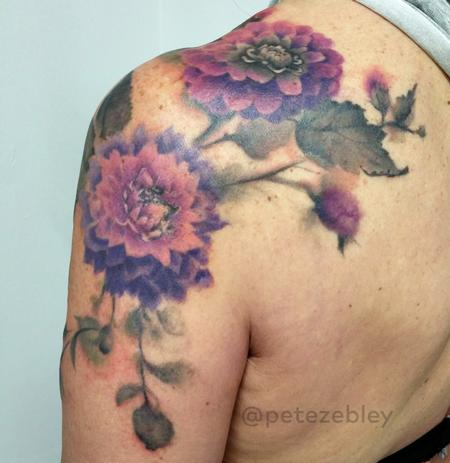 Tattoos - Dahlia Tattoo - 111606