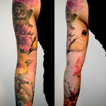 Tattoos - Botanical Sleeve - 109182